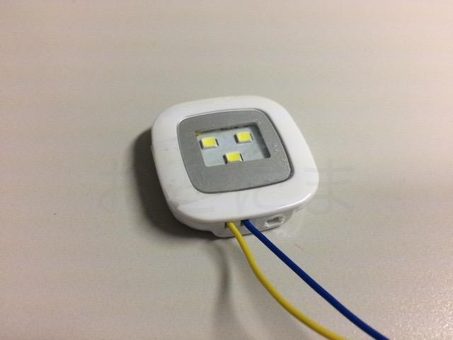 完成した電池ホルダー