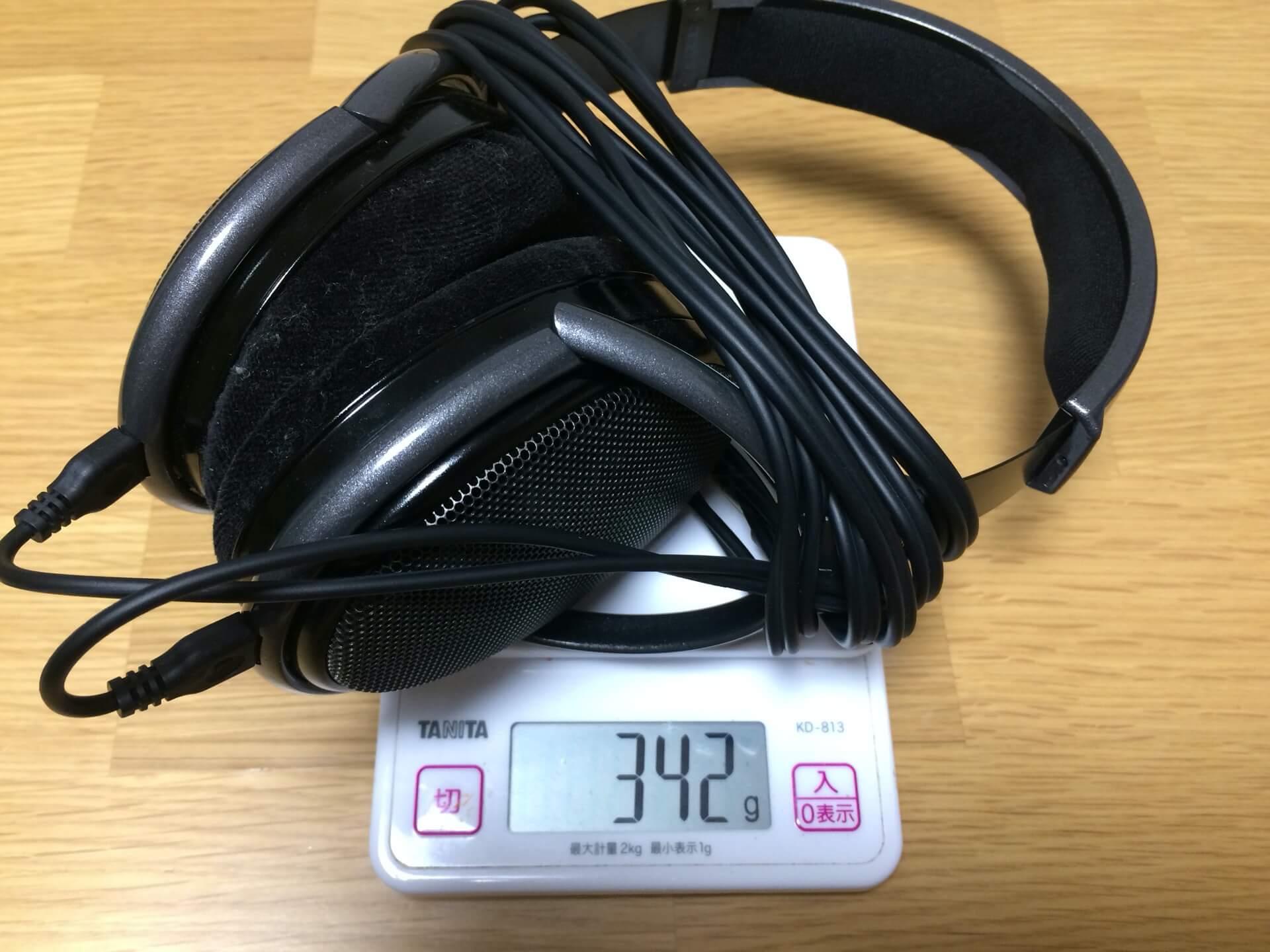 HD650の重量